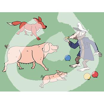 Fabel-Fuchs-Schweine-Affe-1865.png