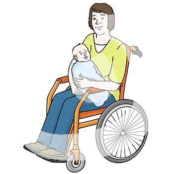 Frau-Baby-Rollstuhl-1928.png